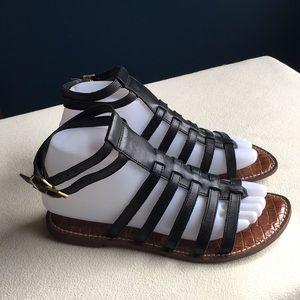 "Sam Edelman ""Gilda"" leather gladiator sandals sz 7"